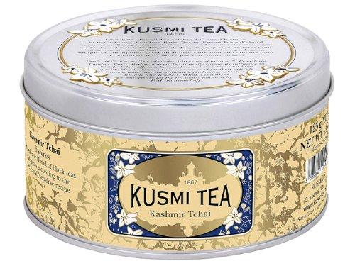 KUSMI TEA クスミティー カシミール チャイ 125g缶 [正規輸入品]