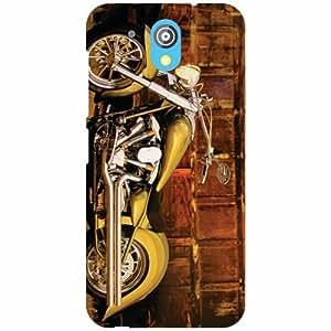 HTC Desire 526G Plus Back Cover - Bike Designer Cases