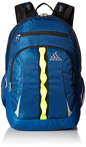 adidas Prime Backpack, Tech Steel/Solar Yellow/Black, One Size
