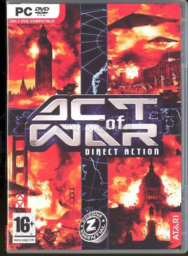Act of war direct action - PC - UK [Windows 98 | Windows 2000 | Windows Me], PC