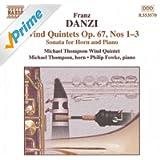 Danzi: Wind Quintets, Op. 67, Nos. 1-3