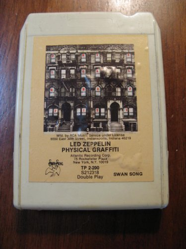 "Led Zeppelein ""Physical Graffiti"" (Swan Records # Tp 2-200 S212318 Double Play 8-Track Tape - 1975)"