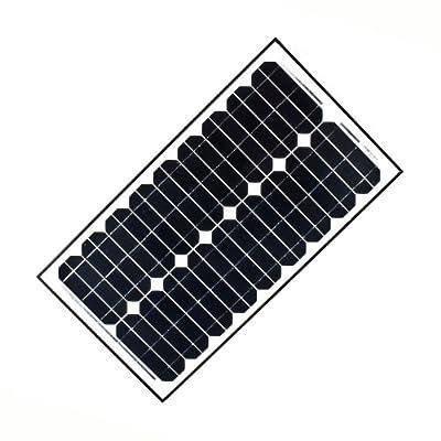 ALEKO® 30W 30-Watt Monocrystalline Solar Panel by ALEKO®