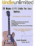 25 Major ii V I Licks for Jazz Guitar. (25 Guitar Licks for...) (English Edition)