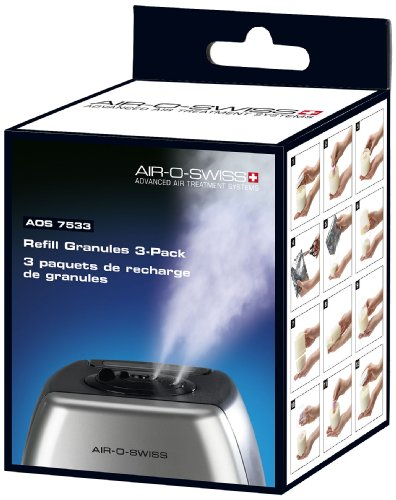 Air-O-Swiss 7533 De-mineralization Granules, 3-Pack - 1