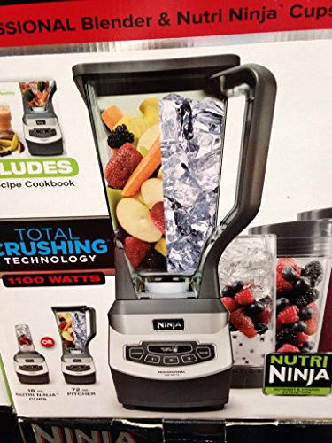 Read About Ninja Professional Blender W/3 Nutri Ninja Cups