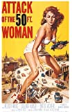 Angriff der 20 Meter Frau (1958) / US Filmplakat