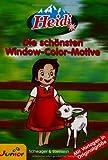 Window-Color-Vorlage: Heidi. Window Color Vorlagen
