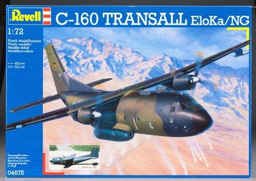 Revell-Modellbausatz-04675-C-160-Transall-ELOKANG-im-Mastab-172