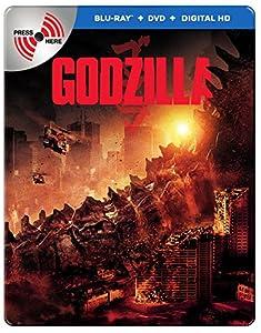 Limited Edition Godzilla MetalPak (Blu-Ray + DVD + Digital HD UltraViolet Combo Pack) from Warner Home Video