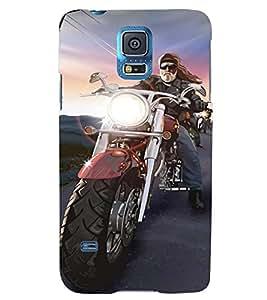 Printvisa Bikers Convoy Back Case Cover for Samsung Galaxy S5 G900i::Samsung Galaxy S5 i9600::Samsung Galaxy S5 G900F