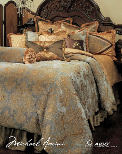 Great You can view more information pare expense and additionally read examine customer opinions prior to buy Michael Amini Elizabeth pc King Comforter Set