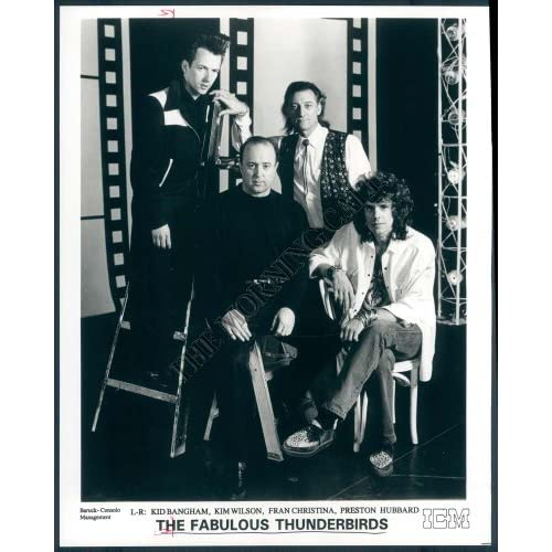 AHQ-714-MC Photo of The Fabulous Thunderbirds Rock Band