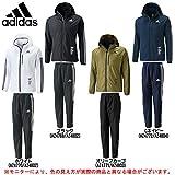 adidas(アディダス) 24/7 ウインドブレーカー 上下セット 【メンズ】 (BV992/BV997) (L, ブラック(AZ4769/AZ4802))
