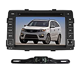 See Pumpkin 7 inch For KIA Sorento 2010-2012 In Dash HD Touch Screen Car DVD Player GPS/Bluetooth/SD/USB Radio Double Din Stereo with free reverse backup rear view reversing camera as gift Details