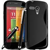 Motorola Moto G Premium TPU Hydro Gel Case Cover included Screen Protector and Polishing Cloth Capacitive Stylus Pen