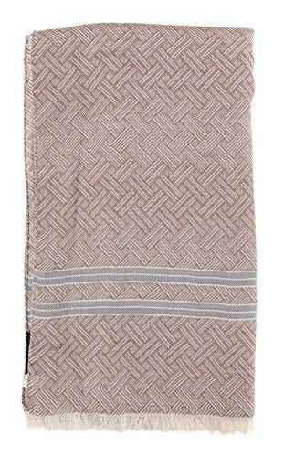 new-cesare-attolini-brown-cotton-scarf
