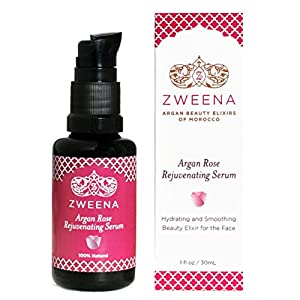 Zweena Argan Rose Rejuvenating Serum for the Face - 1oz/30ml