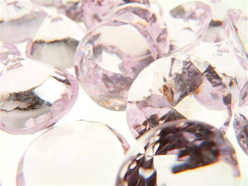 Firefly Imports 50-Piece Acrylic Diamond Gemstone Table Scatter, Light Pink, 3/4-Inch (Light Pink Gems compare prices)