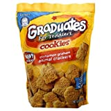Gerber Graduates Cookies, Animal Crackers, 6-Ounce Pouches (Pack of 12)