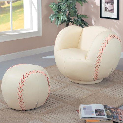Brilliant All Star Large Baseball Chair Ottoman Cvdfyhjlohksdts Unemploymentrelief Wooden Chair Designs For Living Room Unemploymentrelieforg