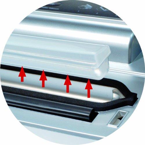 CASO VC 200 Vakuumierer mit Folienbox und Cutter (1390) / doppelte Schweißnaht / natürliches Aufbewahren ohne Konservierungsstoffe / inkl. 2 gratis Profi-Beutel & Vakuumierschlauch für Behälter