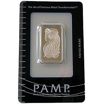 Silberbarren 10 Gramm Silber Fortuna der PAMP SUISSE