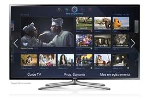 """Samsung UE40F6400 TV LCD 40"""" (101 cm) LED HD TV 1080p 3D Smart TV avec Wi-Fi intégré 2 paires de lunettes 3D 200 Hz 4 HDMI 3 USB Classe: A"""