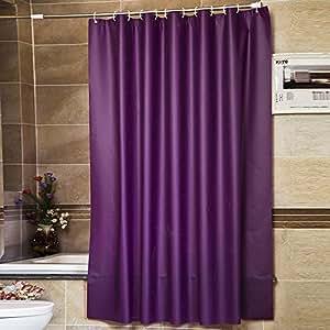riverbyland shower curtains purple 72 quot x 80