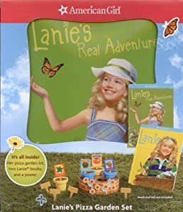 American Girl Lanie's Pizza Garden Set (2010 Doll Girl of the Year Lanie) (2 Books, Poster, and 14-Piece Pizza Set for Dolls)