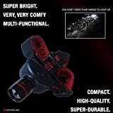 Super Bright Headlamp - Lightweight, Adjustable & Comfortable - Extended Battery Life - Suitable for Camping, Reading, Jogging, DIY and Emergencies - Divine LEDs