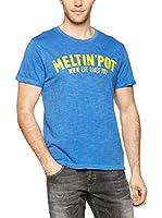 Meltin Pot Camiseta Manga Corta Astij (Azul)