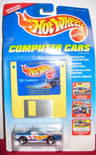 HOT WHEELS COMPUTER CARS '93 CAMARO