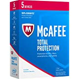 McAfee 2017 Total Protection-5 Devices [Key Code] (5-Users)