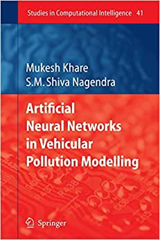 Artificial Neural Networks in Vehicular Pollution Modelling (Studies