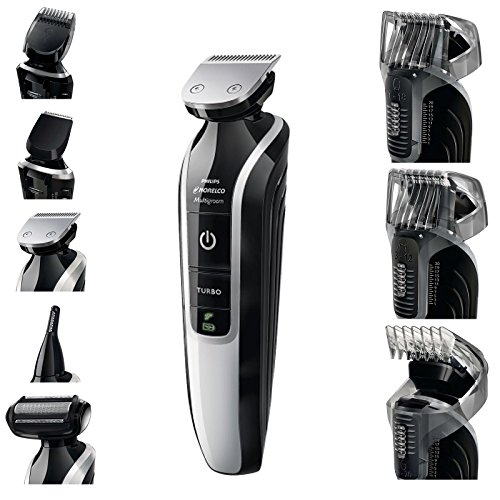 Philips Norelco Multigroom Pro Trimmer Series 7500 with Pouch QG3392 (Turbo Pro Series compare prices)