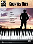 Country Hits: 40 Sheet Music Bestsell...