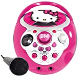 Hello Kitty Mini Portable Karaoke - Pink (69809)