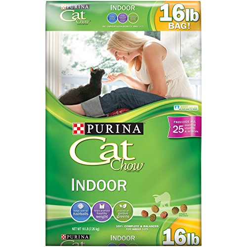 Cat Chow Indoor Formula - 16 lb