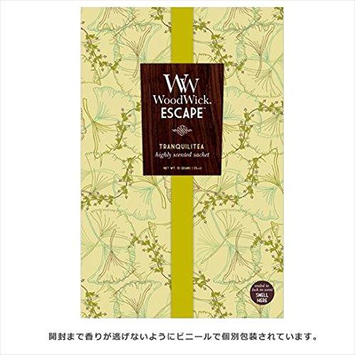 WoodWick Wood Wickエスケープサシェ ルームフレグランス 100x152x6mm