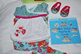 American Girl Bitty Baby Twins Baking Outfit