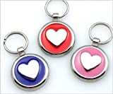 Pet ID Tag - Heart Jewelry Tag - Custom engraved cat and dog ID tags. Jewelry that ensures pet safety.