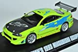 Mitsubishi Eclipse Coupe Grün Brian Fast and Furious 2001 1/43 Greenlight Minichamps Modell Auto