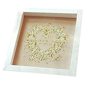 Amazon Simple Heart DIY CrossStitch 11CT Counted