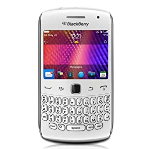 Blackberry Curve 9360W Unlocked Cellphone - No Warranty - White