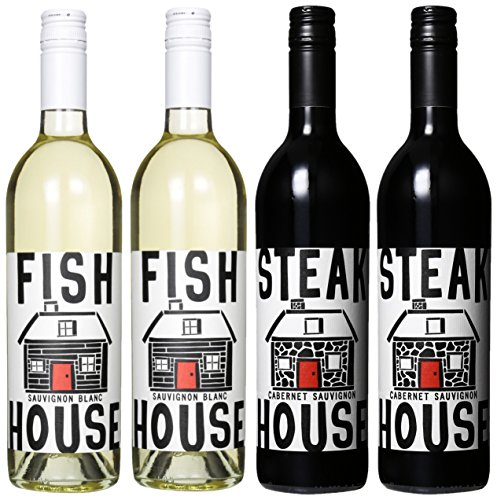 House Wine Surf N Turf Mixed Pack (2Nd Edition), 4 X 750 Ml
