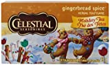 Celestial Seasonings Gingerbread Spice Herbal Holiday Tea Bags, 20 ct