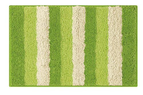 Lime green bathroom rugs