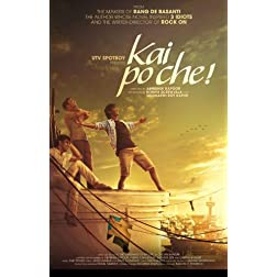 Kai Po Che!  (Hindi Movie / Bollywood Film / Indian Cinema DVD)