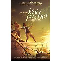 Kai Po Che!  (Hindi Movie / Bollywood Film / Indian Cinema DVD)